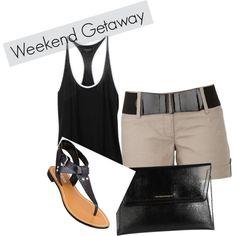 """""""weekend getaway"""" by erinowens327 on Polyvore"""