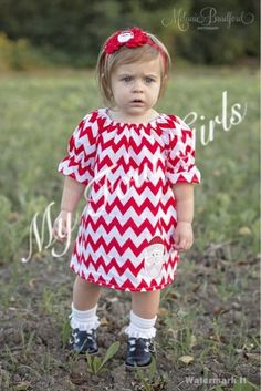 Christmas Dress Red Holiday Dress Toddler by MyFourGirlsGifts #myfourgirls #myfourgirlsgifts #redchevrondress #santadress #holidaydress #christmasdress #girlsdress #toddlerdress