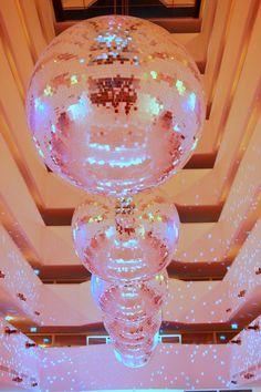 so many disco balls!
