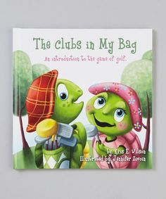 The Clubs In My Bag Hardcover by The Littlest Golfer looks like it has great vibrant illustrations