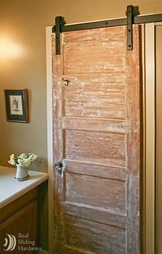 Old Sliding Barn Doors sliding barn doors made from 150 year old barn wood and installed