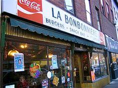 Jeremiah's Vanishing New York: La Bonbonniere