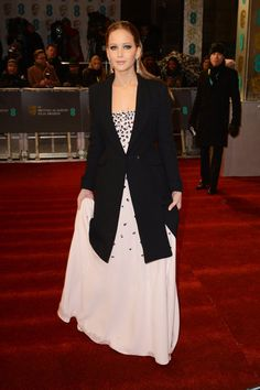 Jennifer Lawrence BAFTAs Red Carpet