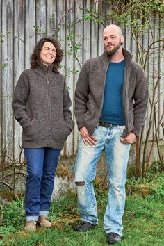 Die robuste Jacke für alle Tage wird aus der Schurwolle von Merinoschafen (kbT) gestrickt. Alle Bündchen sind doppelt gearbeitet und sorgen so für ...