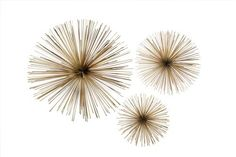 Two's Company Wall Flowers, Set of 3