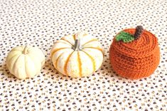 One Sheepish Girl | Crochet Pumpkin Treat Bowl Pattern