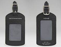 Leather Accessories, Travel Accessories, Smythson, Leather Crafts, Id Holder, Free Gifts, Tags, Canvas, Design