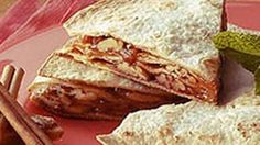 Tortillas go nuts in a sweet, layered dessert.