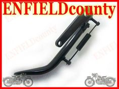 SIDE STAND BLACK COLOUR FOR ROYAL ENFIELD BULLET MOTORCYCLE