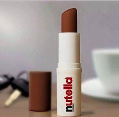 Chocolade lippenstift, die wil ik!