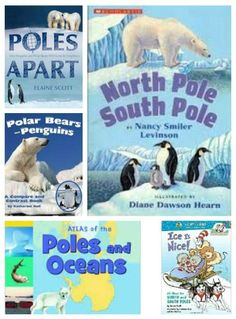 Books that take kids to the ends of the Earth to explore polar animals & regions!