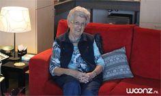 """Nel Verhoef (93) woont sinds zes jaar in het Hof van Batenstein in een woonzorgappartement van Zorgspectrum. Nel: """"Het wonen hier bevalt me uitstekend. Vanaf het begin toen ik hier kwam, zei ik tegen mijn dochter: dit is het."""""""