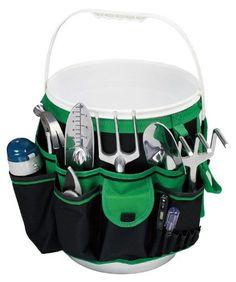 Apollo Precision Tools DT0825 Garden Tool Organizer Black/Green 5-Gallon Bucket http://ift.tt/2kfJRce