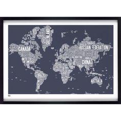 World Type Map