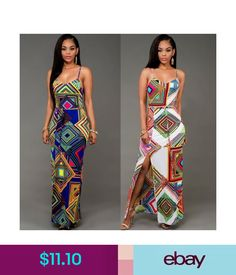 a5c917e085249 Dresses Women s Summer Fashion Boho Long Maxi Evening Party Beach Dress  Floral Sundress  ebay