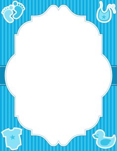 Printable baby boy border. Free GIF, JPG, PDF, and PNG downloads at http://pageborders.org/download/baby-boy-border/