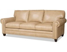 Bradington Young Daylen Leather Sofa. Custom Made In The USA! : Leather  Furniture Expo