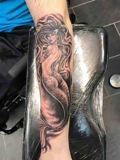 olio.tattoo Mermaid Tattoo by Ron from Tropical Tattoo - Ormond Beach, FL #mermaid -- More at: https://olio.tattoo/tattoo-images/mentions:mermaid