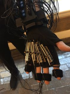 Phantom Power is a wearable musical instrument created by Brady Bei. It consists of an analog synthesizer located on the arm and is operated and performed using both hand gestures and screwdriver. …