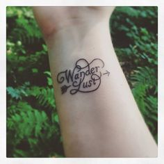 Resultado de imagem para wanderlust tatuagem