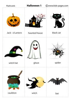 Halloween 1 flashcard