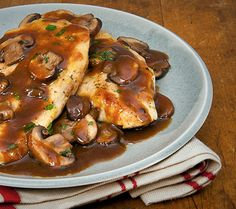 Chicken Marsala. #recipes #dinner #family #quick #chickensoupforthesoul