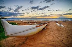 Hawaiian sunset at the Grand Wailea, Maui