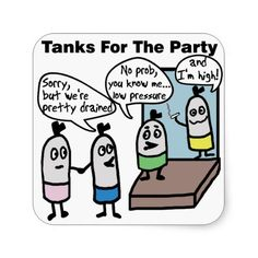Scuba Tanks Party