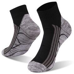 Unisex Cactus Pots Green Athletic Quarter Ankle Print Breathable Hiking Running Socks