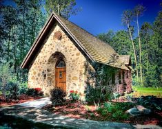 Chapel in the Woods by John Grede on Capture Wisconsin // A beautiful small church just outside Elkhart Lake