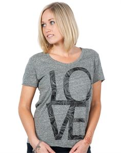 Love Rose Triblend - Christian Womens Fashiontops for $24.99 | C28.com