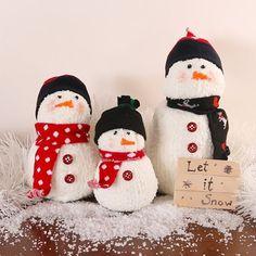 sock snowman {Good Instructions}