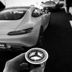 Mercedes Benz and Hot Coffee