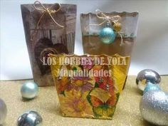 Bolsita de regalo con tetrapack / Gift bag wrapping ideas