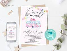 Drive By Baby Shower Invitation, Blue Boy Drive Through Baby Shower EDITABLE Social Distancing Shower Invitation Virtual Baby Shower 0110 Balloon Invitation, Invitation Set, Baby Shower Invitations, Baby Shower Templates, Virtual Baby Shower, Baby Shower Thank You, Software, Platform, Colour