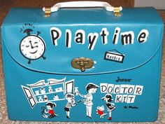 HASBRO: 1960s Playtime Junior Doctor Kit #Vintage #Toys