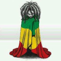 YoungRasta My Black Is Beautiful, Black Love, Black Art, African American Art, African Art, African Style, Bob Marley, Rastafari Art, Rastafari Quotes