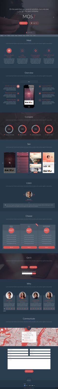 Mos7 Responsive Bootstrap 3 App Landing Page - Download http://themeforest.net/item/mos7-responsive-bootstrap-3-app-landing-page/9350398?ref=pxcr