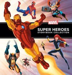Marvel Super Heroes Storybook Collection by Disney Book Group,http://www.amazon.com/dp/142317223X/ref=cm_sw_r_pi_dp_6vmQsb1VHTYDQYKJ