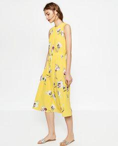 b6ccd8b8 11 Best Zara 2016 images | Zara 2016, Midi dresses, Midi length dresses