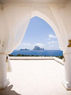 Beautiful view, Ibiza, Spain  #inspiration #art2arrange #wedding