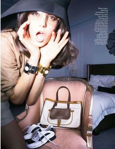 Vogue UK February 2012 Editorial - Tati Cotliar