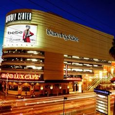 Los Angeles Shopping Experience with a 3-Night Stay at the Hyatt Regency Century Plaza, $500 Bloomingdale Gift Card and Airfare for (2)