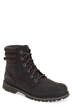 """Helly Hansen 'Gataga' Work Boot (Men)   Fashiondoxy.com  description - =""""Free shipping and returns on Helly Hansen 'Gataga' Work Boot (Men) at Fashiondoxy.com. A lugged Helly Grip sole grounds an intrepid winter-ready work boot crafted from full-grain, waterproof leather."""