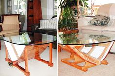 Boat Coffee Table 40 Quirky Coffee Tables | Brit + Co.