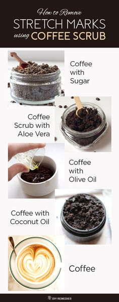 Basic Skin Care Tips That Everyone Should Be Using How to Remove Stretch Marks using Coffee Scrub There are many ways of using coffee scrub for stretch marks and the best are mentioned below. Try them regularly to fade away the stretch marks. Exfoliating Body Scrub, Diy Body Scrub, Face Scrub Homemade, Diy Scrub, Coffee Cellulite Scrub, Coffee Face Scrub, Stretch Mark Remedies, Stretch Mark Removal, How To Remove Stretch Marks