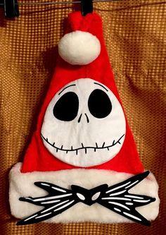 Jack Skellington Santa, Scrapbook Journal, Age 3, Santa Hat, Nightmare Before Christmas, Christmas Crafts, Cap, Halloween, Disney Characters
