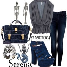 Serena fashion from Pirates of the Caribbean: On Stranger Tides