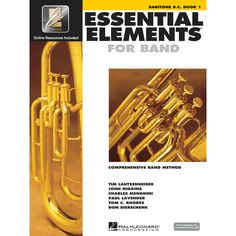 Essential Elements For Band - Baritone B. C. Book 1