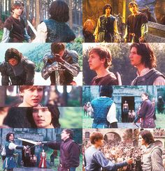 ↳ Four Relationships - (3/4) Prince Caspian and Peter Pevensie.